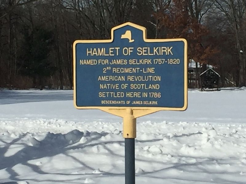 Hamlet of Selkirk Marker image. Click for full size.