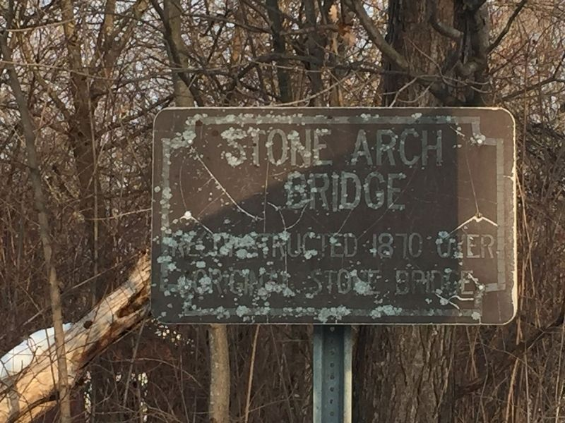 Stone Arch Bridge Marker image. Click for full size.