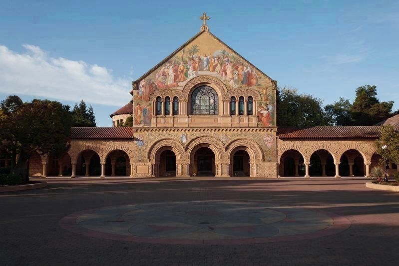 Stanford Memorial Church image. Click for full size.