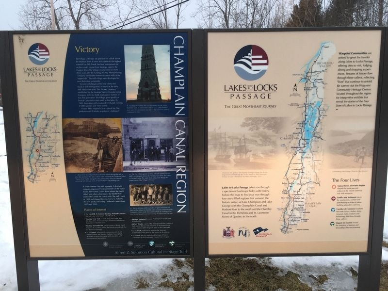 Champlain Canal Region Marker image. Click for full size.