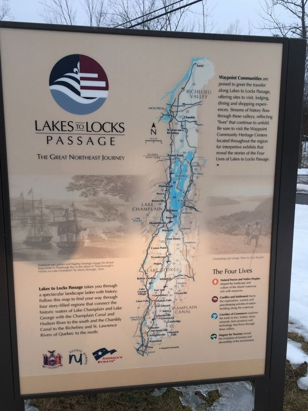 Lakes to Locks Passage Map image. Click for full size.
