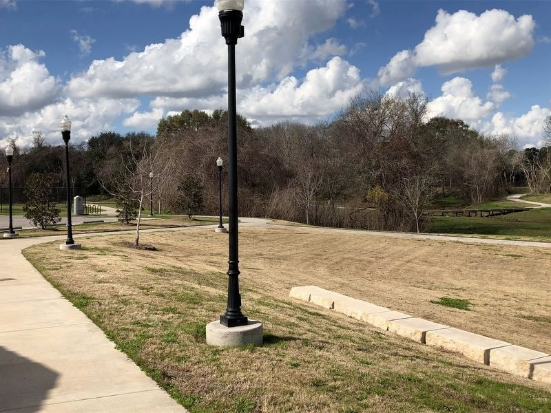 Site of the Home of Randal Jones Marker image. Click for full size.