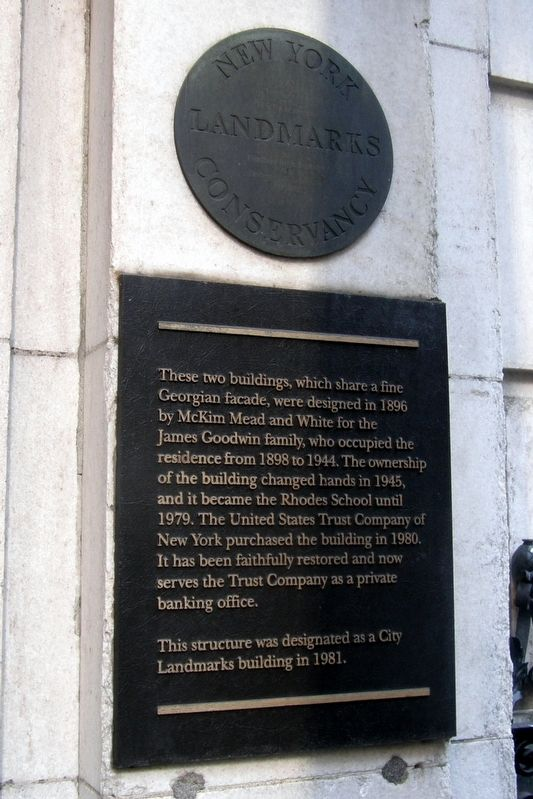 9-11 West 54th Street Marker image. Click for full size.