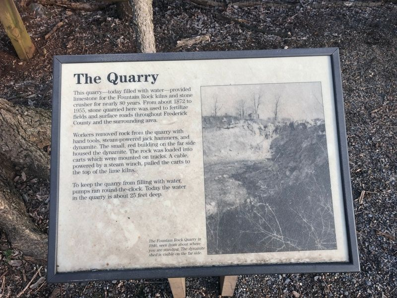 The Quarry Marker image. Click for full size.