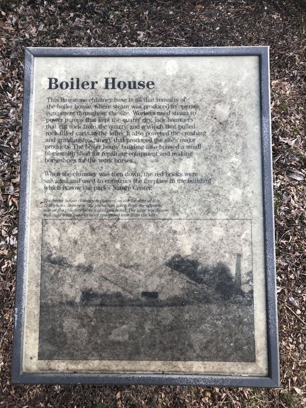 Boiler House Marker image. Click for full size.