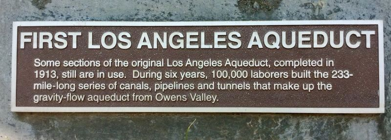 Power Plant 1, Aqueduct Marker image. Click for full size.