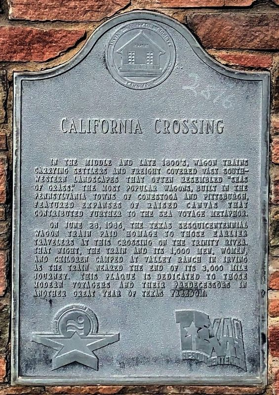 California Crossing Marker image. Click for full size.
