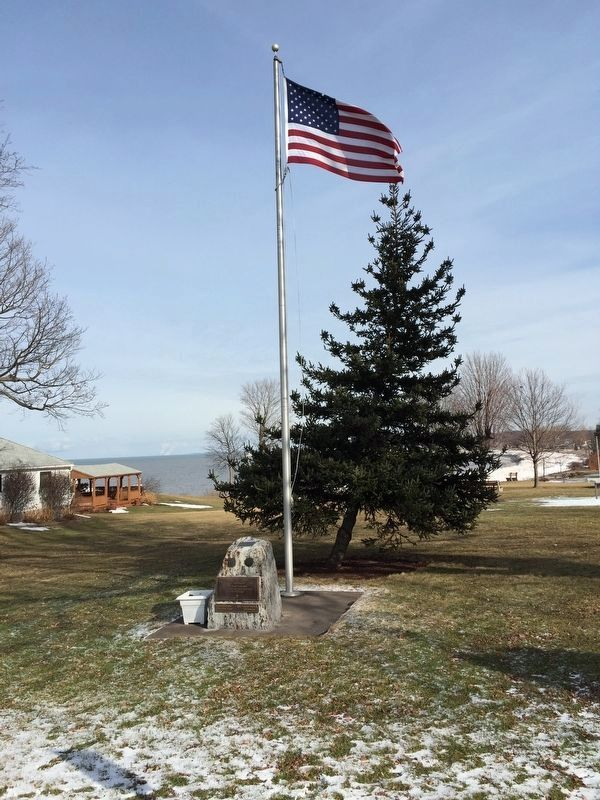 War Memorial at Sodus Point Light image. Click for full size.
