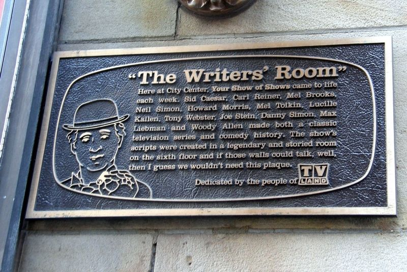 """The Writers' Room"" Marker image. Click for full size."