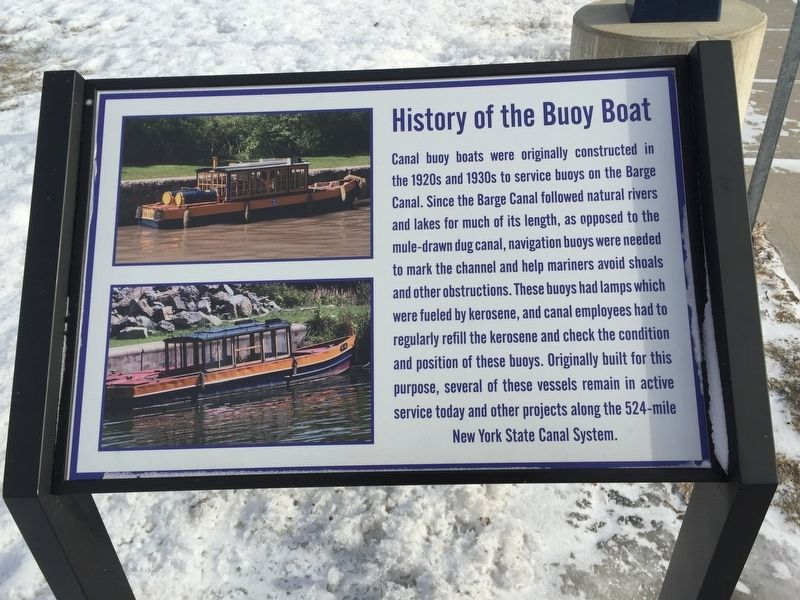 History of the Buoy Boat image. Click for full size.