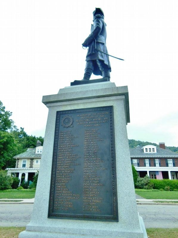 General Joseph Warren Monument<br>(<i>south side</i>) image. Click for full size.