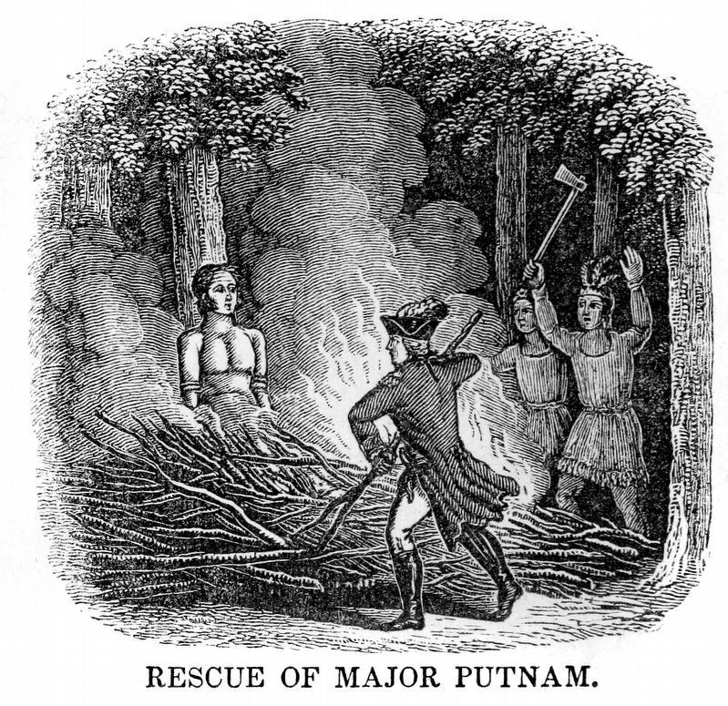 Rescue of Major Putnam image. Click for full size.