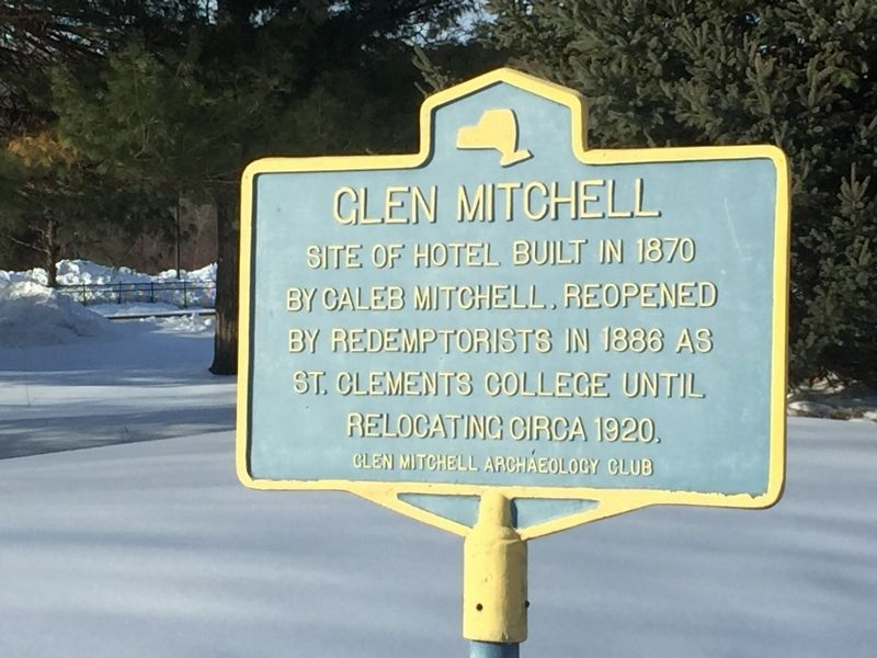 Glen Mitchell Marker image. Click for full size.