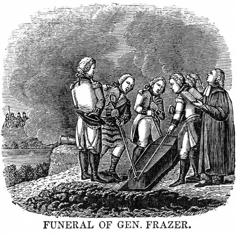 Funeral of General Frazier image. Click for full size.