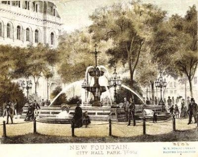 The Jacob Wrey Mould Fountain image. Click for full size.