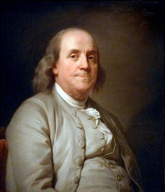 Benjamin Franklin image. Click for full size.