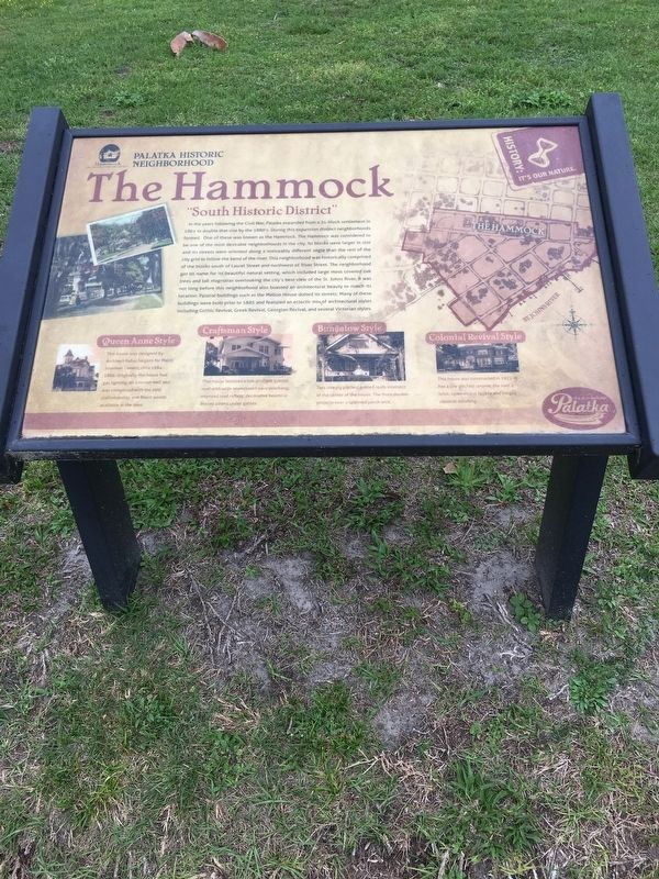 The Hammock Marker image. Click for full size.
