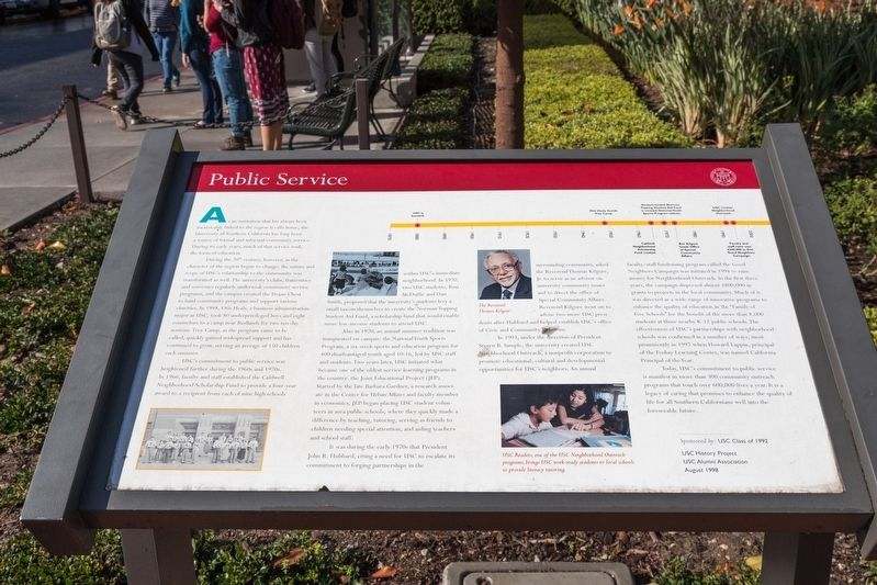 Public Service Interpretive Panel image. Click for full size.