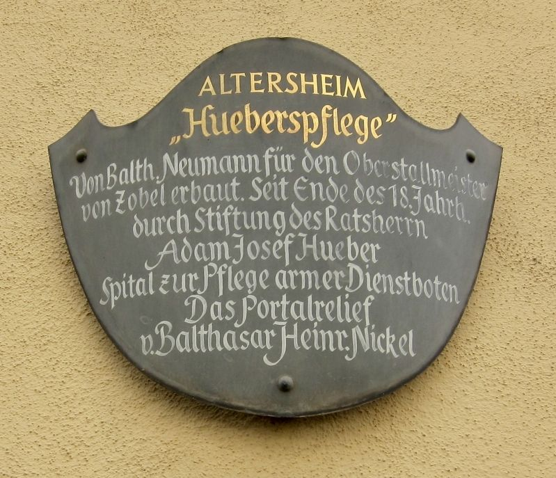 "Altersheim ""Hueberspflege"" / Senior Home ""Huebers Care"" Marker image. Click for full size."