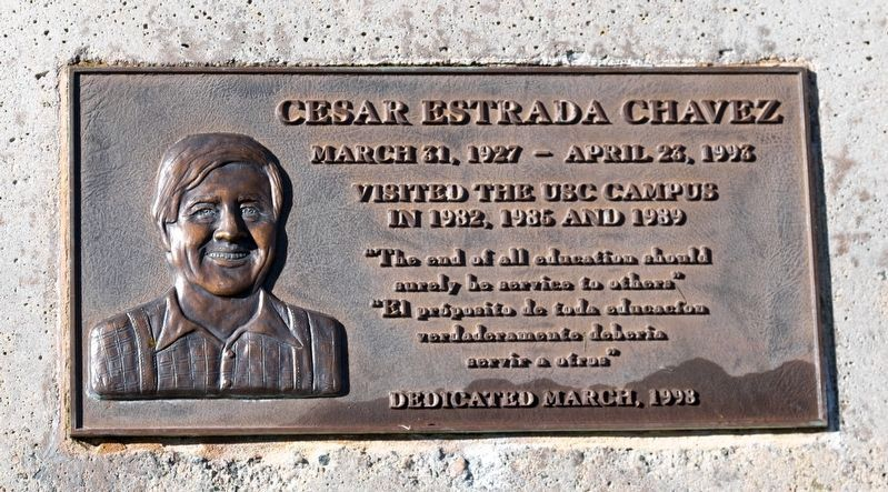 Ceasar Estrada Chavez Tablet image. Click for full size.