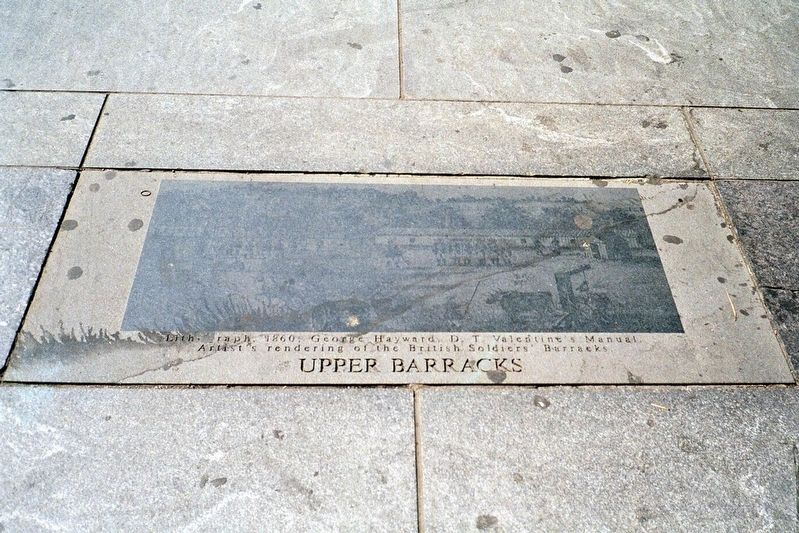 Upper Barracks Marker image. Click for full size.