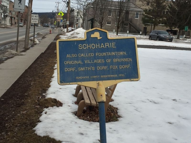 Schoharie Marker image. Click for full size.