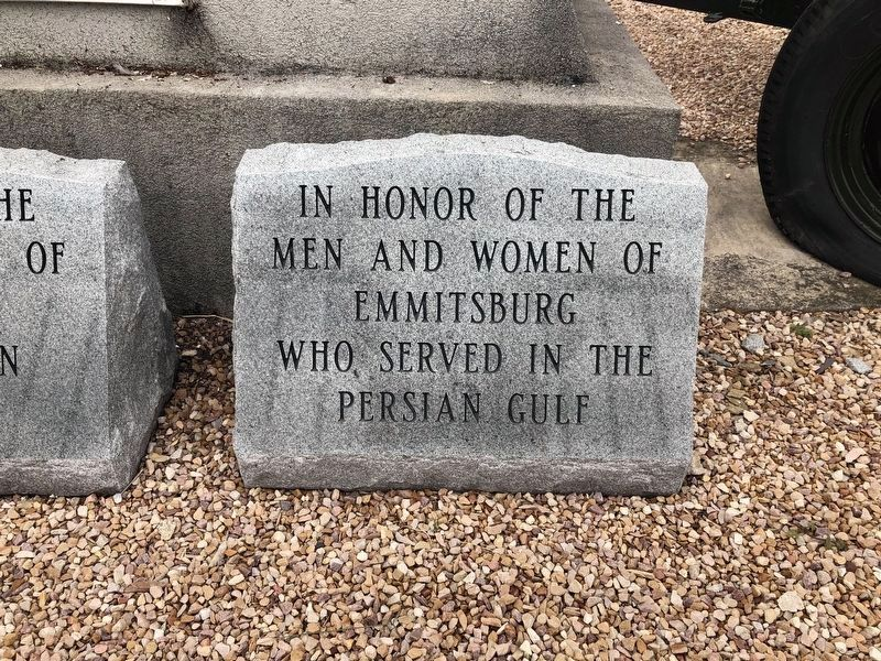 Emmitsburg Persian Gulf Memorial image. Click for full size.