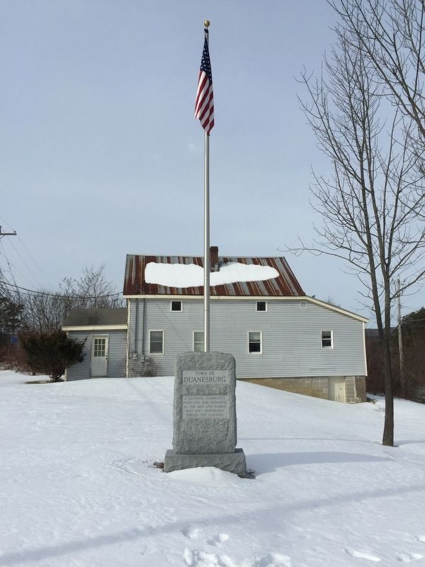 Town of Duanesburg Marker image. Click for full size.