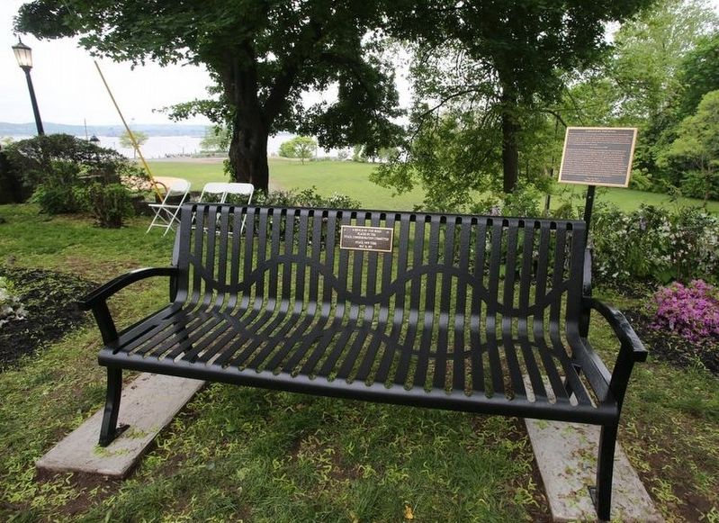 Bench by the Road: Cynthia Hesdra Marker image. Click for full size.