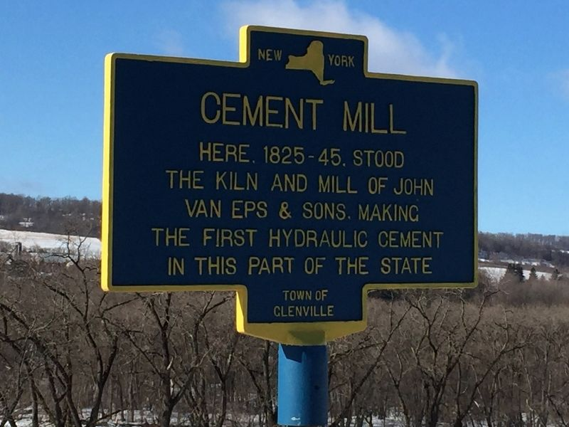 Cement Mill Marker image. Click for full size.