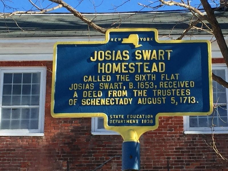 Josias Swart Homestead Marker image. Click for full size.