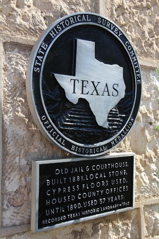 Old Jail & Courthouse Marker image. Click for full size.