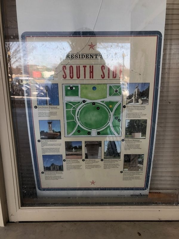 South Side Marker image. Click for full size.