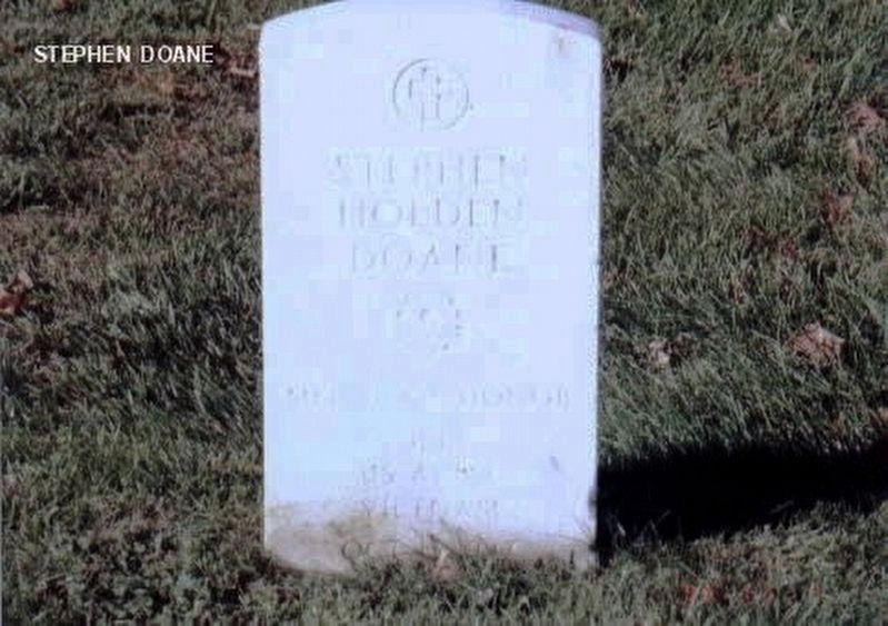 First Lieutenant Stephen Holden Doane '70 Grave Marker image. Click for full size.