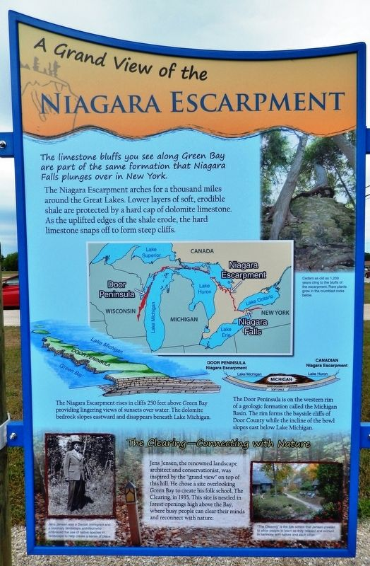 Niagara Escarpment Marker image. Click for full size.