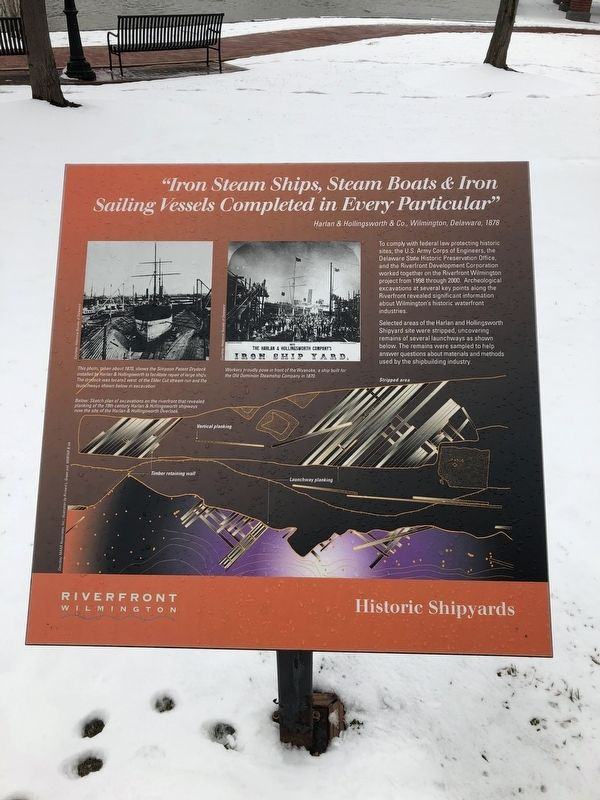 Historic Shipyards Marker image. Click for full size.