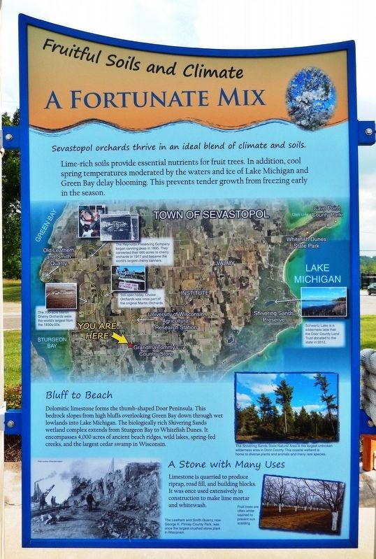 A Fortunate Mix Marker image. Click for full size.