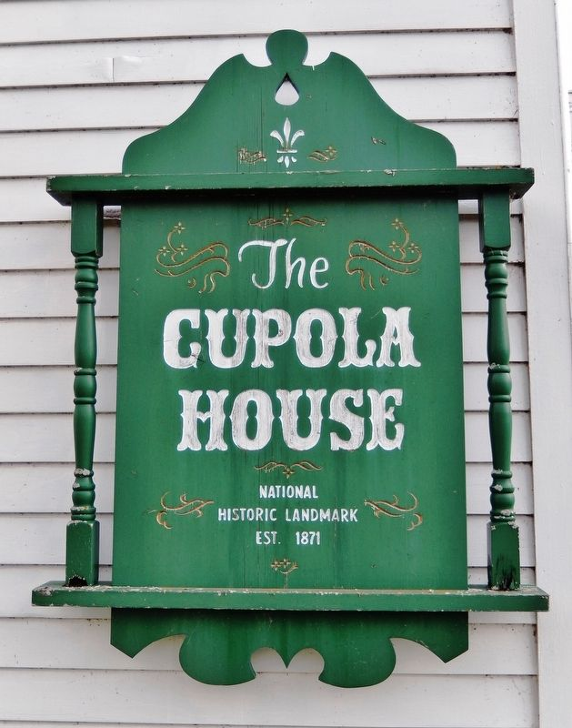 Cupola House Marker image. Click for full size.