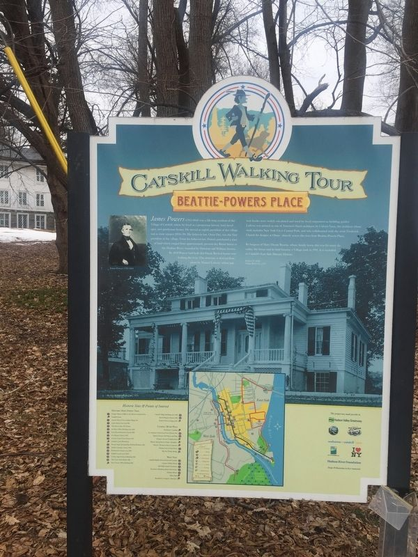 Catskill Walking Tour Marker image. Click for full size.