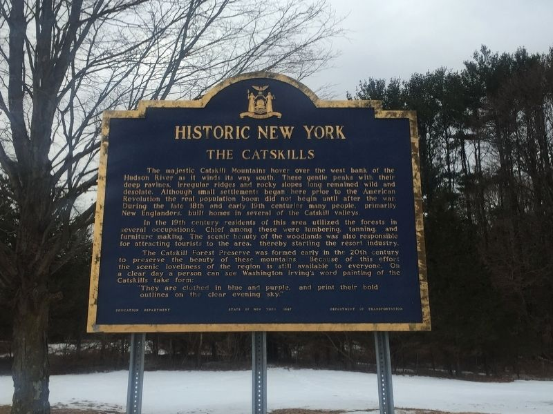 The Catskills Marker image. Click for full size.