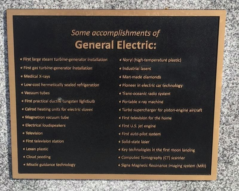 About General Electric image. Click for full size.