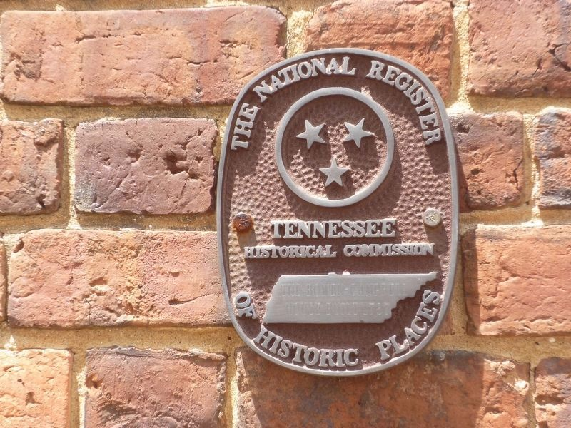 NRHP and Tennessee Historical Commission Bowen-Campbell House Marker image. Click for full size.