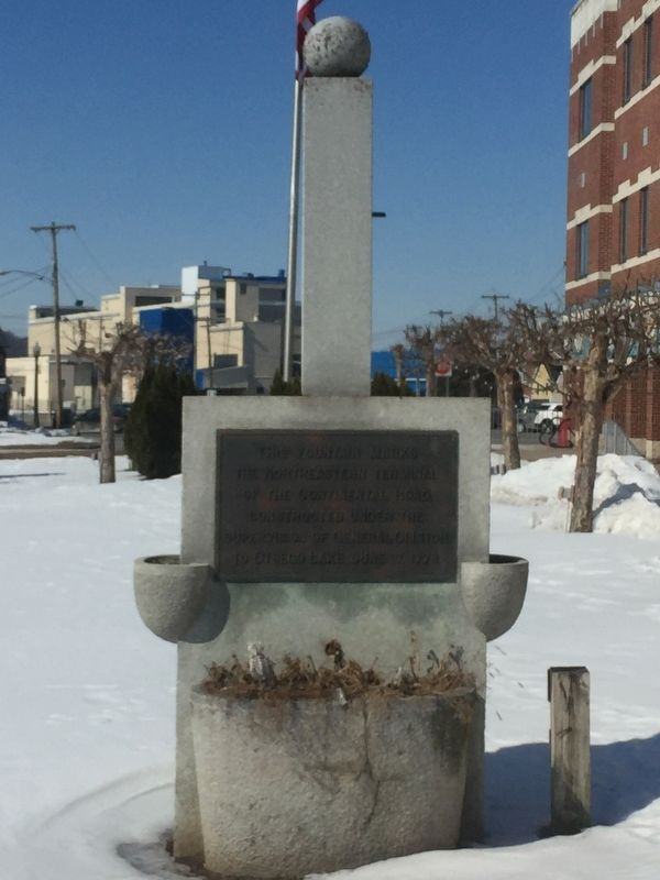 Northeastern Terminal Marker image. Click for full size.