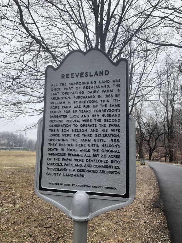 Reevesland Marker image. Click for full size.