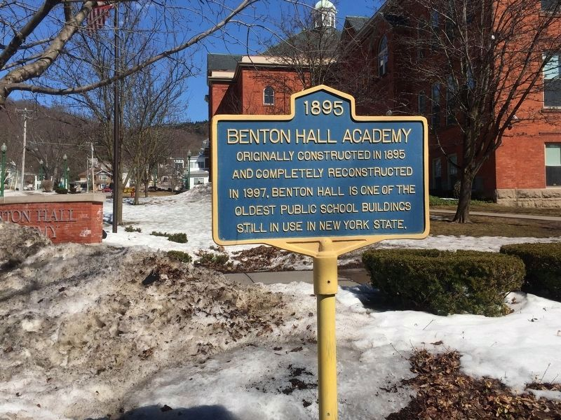 Benton Hall Academy Marker image. Click for full size.