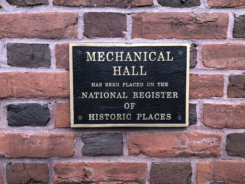 Mechanical Hall Marker image. Click for full size.