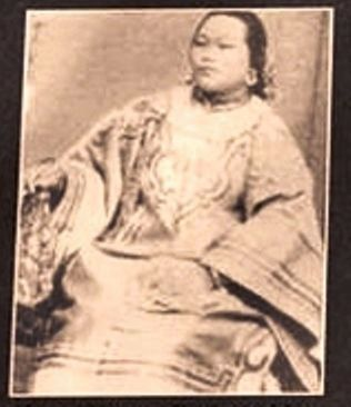 Marker photo: China Mary – Early 1880's image. Click for full size.