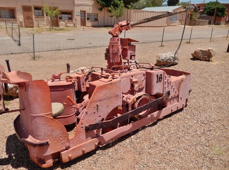 Tombstone Mine Electric Ore Car image. Click for full size.