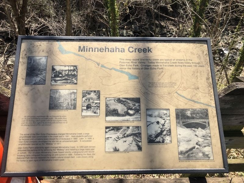 Minnehaha Creek Marker image. Click for full size.
