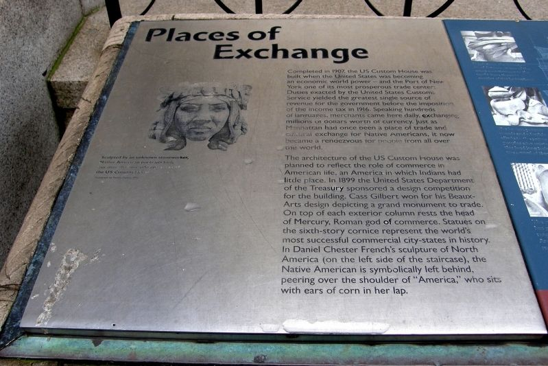 Places of Exchange Marker image. Click for full size.